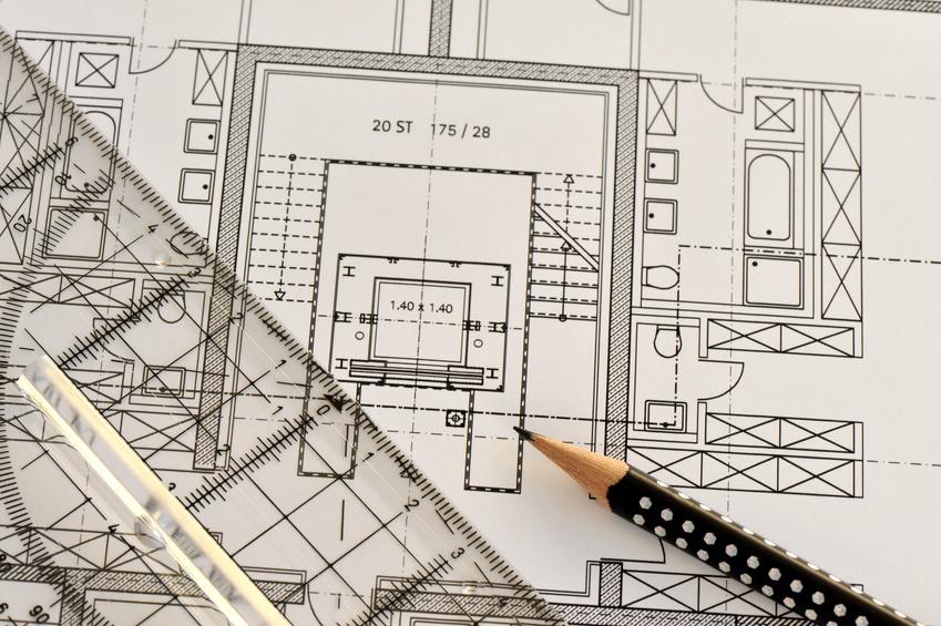 Bauplan, Zeichnung, Skizze